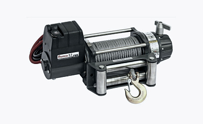 Removable winch